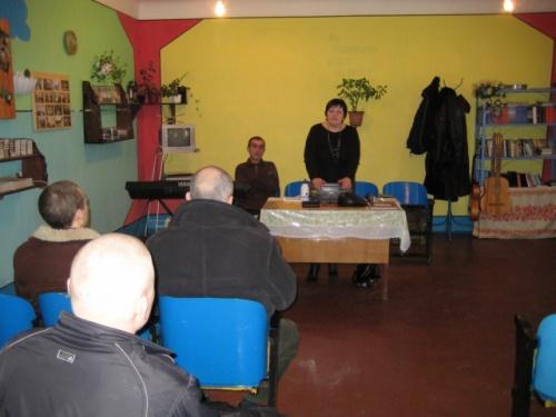 Служение в 52-ой зоне город Енакиево.