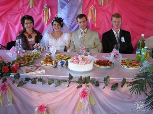 Свадьба-семья Головченко.