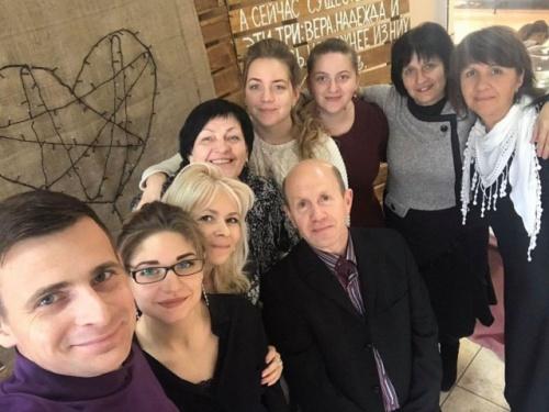 Семья Рудышиных у нас в гостях. 2 ноября 2019 год.